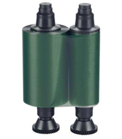 Evolis RCT014NAA GREEN Monochrome Ribbon - 1000 prints / roll