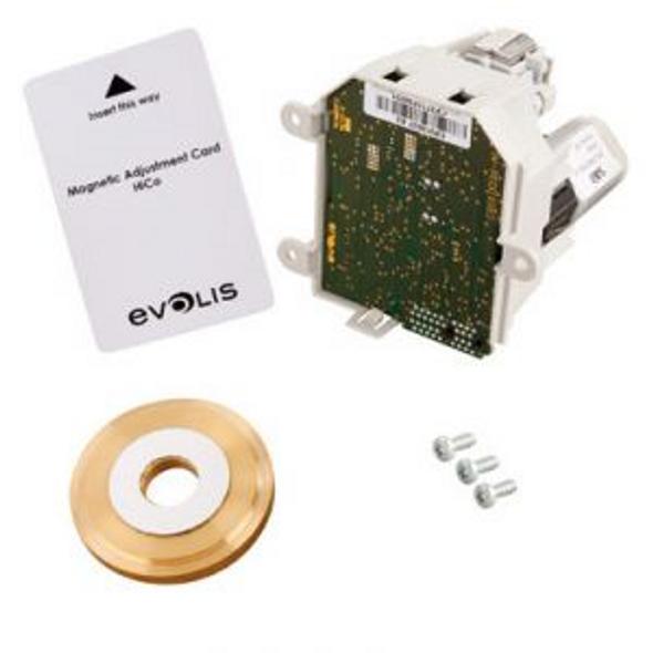 Evolis S10108 Magnetic ISO encoding kit Incl. Mag ISO Dual HiCo/LoCo 3-track magnetic stripe encoder, flywheel