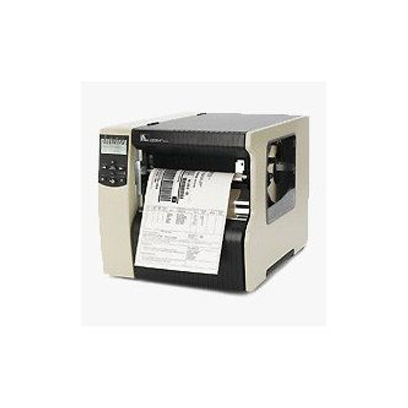 Zebra 220-801-00200 TT Printer 220Xi4; 203dpi, US Cord, Serial, Parallel, USB, Int 10/100, Rewind with Peel