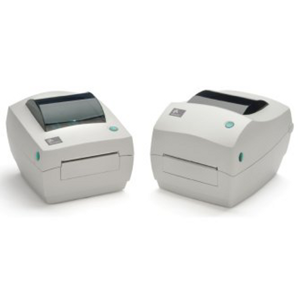 Zebra GC420-100410-000 TT Label Printer, GC420t; 203DPI, US Cord, EPL and ZPL, USB and Ethernet (10/100), 8MB Std Flash, 8MB SDRAM