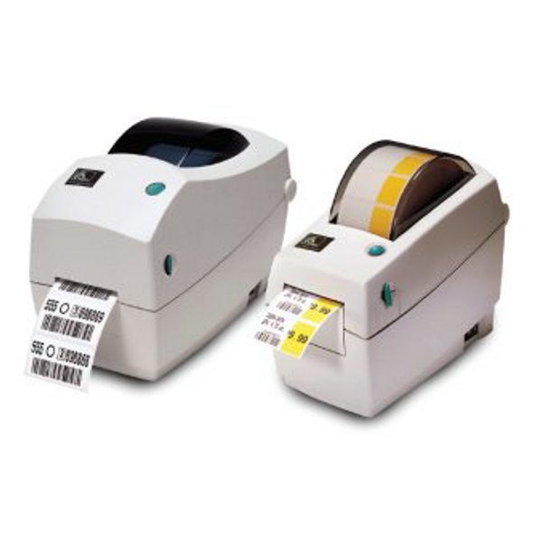 Zebra 282P-101512-000 TLP2824, TT Label Printer Plus; 203dpi, US Cord, EPL, ZPL, USB, Internal 10/100 Ethernet, Cutter