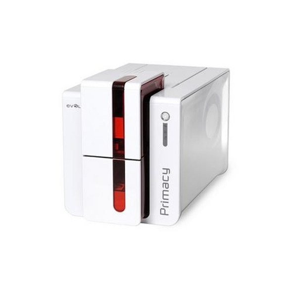 Evolis PM1H00HSRS Primacy Simplex Expert Contactless Fire Red Printer with SpringCard Crazy Writer HSP Contactless Encoder, USB & Ethernet, with Cardpresso XXS software licence