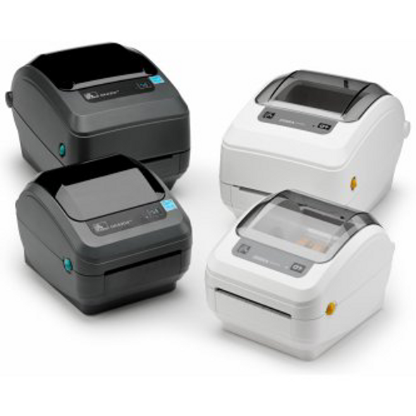 Zebra GK42-102510-000 TT Label Printer GK420t; 203 dpi, US Cord, EPL, ZPLII, USB, Serial, Centronics Parallel
