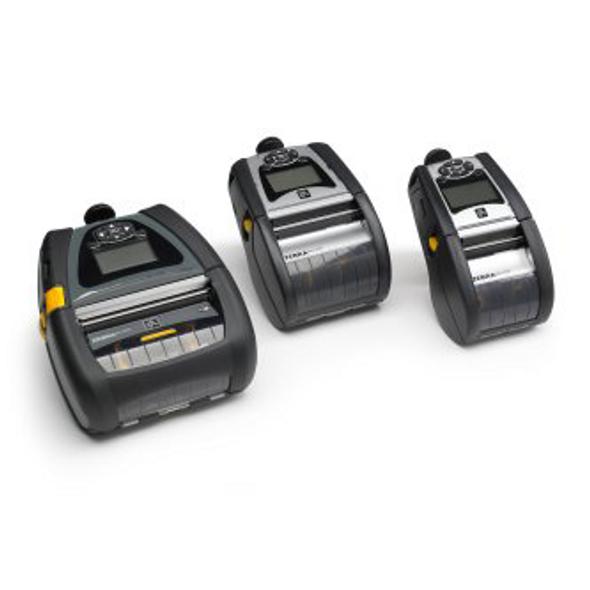 "Zebra QN4-AUCA0M00-00 DT Printer QLn420; CPCL, ZPL, XML, Bluetooth 3.0, Mfi + Ethernet, Linered Platen, .75"" Core, English, Grouping 0, Belt Clip"