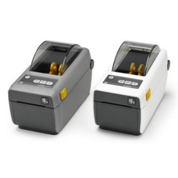 "Zebra ZD41022-D01E00EZ DT Printer ZD410; 2"", 203 dpi, US Cord, USB, USB Host, BTLE, Ethernet Module, EZPL"