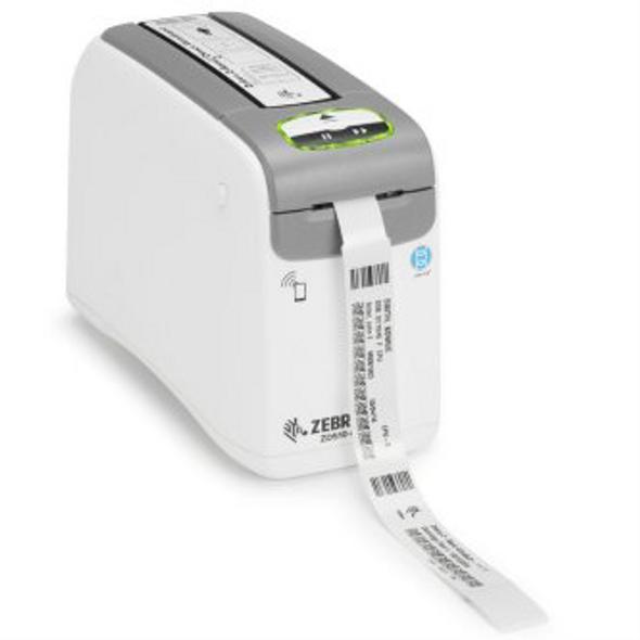 Zebra ZEB-ZD51013D01B01FZ DT Printer ZD510 Wristband; ZPL II, XML, 300 dpi, US Cord