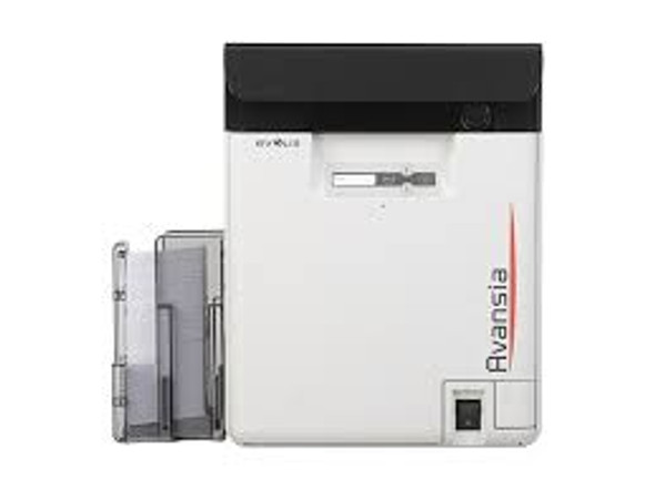 Evolis AV1HBHLBBD Avansia Duplex Expert Mag ISO Smart & Contactless Printer with Mag ISO Dual HiCo/LoCo 3-track magnetic stripe encoder and Evolis Elyctis Dual Smart Card and Contactless (IDENTIV chipset) Encoder, USB & Ethernet, with Cardpresso licence