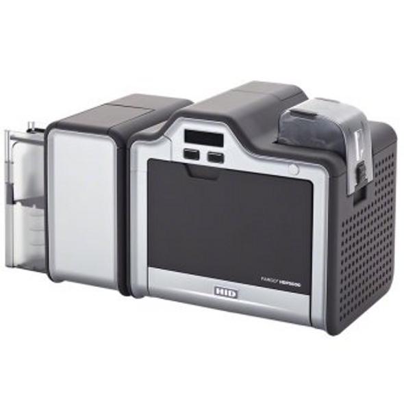 Fargo 89648 HPD5000 Base Model, iCLASS, MIFARE/DESFire, and Contact Smart Card Encoder (Omnikey Cardman 5121****)