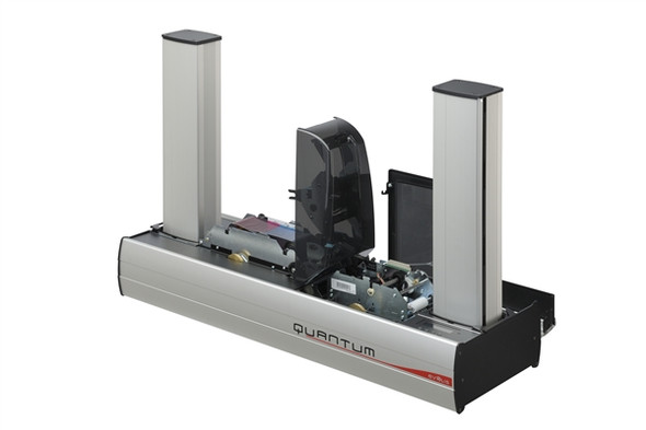 Evolis QTM306GRH-BS00K Quantum 2 Secured (with a centralized locking system) Mag Iso, Smart contact station, Connecting panel and mounting area for Contactless encoders, with Cardpresso XXS software licence