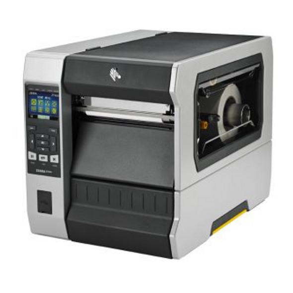 "Zebra ZT62062-T010100Z TT Printer ZT620; 6"", 203 dpi, US Cord, Serial, USB, Gigabit Ethernet, Bluetooth 4.0, USB Host, Tear, Color, ZPL"