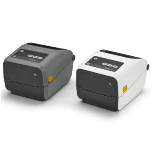 "Zebra ZD42043-C01000EZ TT Cartridge Printer ZD420; 4"" print width, Standard EZPL, 300 dpi, US Cord, USB, USB Host, Modular Connectivity Slot"