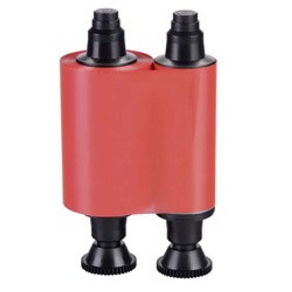 Evolis R2013 Red Monochrome Ribbon, 1000 cards / roll