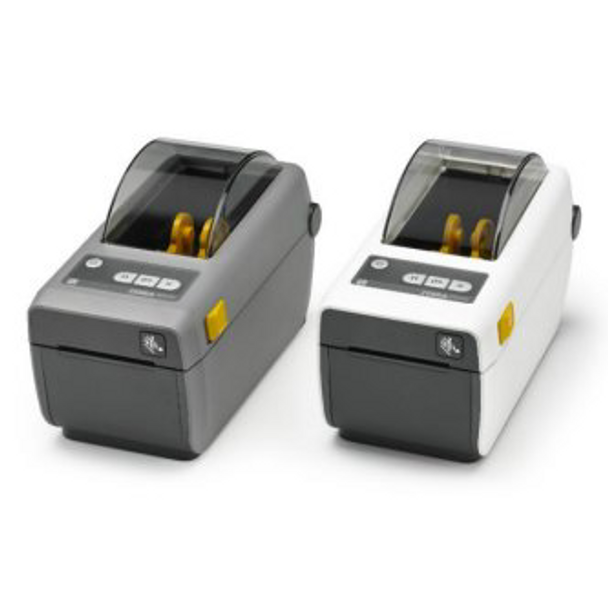 "Zebra ZD41022-D01000EZ DT Printer ZD410; 2"" print width, Standard EZPL, 203 dpi, US Cord, USB, USB Host, Modular Connectivity Slot"