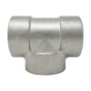 Stainless Steel Threaded Reducing Tee 3000# 304L