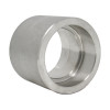 """2-1/2"""" Coupling, Stainless Steel 3000# Threaded x Socket Weld 304L A/SA182"""