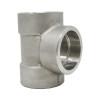 "1"" Tee, Stainless Steel 3000# Socket Weld 316L A/SA182"