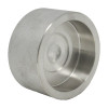"""2-1/2"""" Cap, Stainless Steel 3000# Socket Weld 316L A/SA182"""
