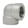 Stainless Steel Threaded 90 Elbow 3000# 316L