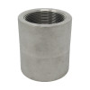 """1-1/4"""" Coupling, Stainless Steel 3000# Threaded 316L A/SA182"""