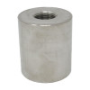 """1-1/2"""" x 1/2"""" Reducing Coupling, Stainless Steel 3000# Threaded 316L A/SA182"""