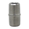 """1/8"""" x Close (3/4"""") Nipple, Stainless Steel Sch 40 Threaded Both Ends (TBE) 304L NPT"""