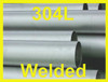 "12"" Welded Pipe Schedule 5s, Stainless Steel 304/304L ASTM A312 ASME SA312"