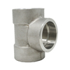 "2"" Tee, Stainless Steel 3000# Socket Weld 304L A/SA182"