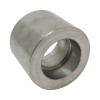 """3/8"""" x 1/4"""" Reducing Coupling, Stainless Steel 3000# Socket Weld 304L A/SA182"""