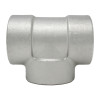 Stainless Steel Threaded Tee 3000# 304L