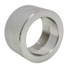 """1/2"""" Half-Coupling, Stainless Steel 3000# Threaded 304L A/SA182"""