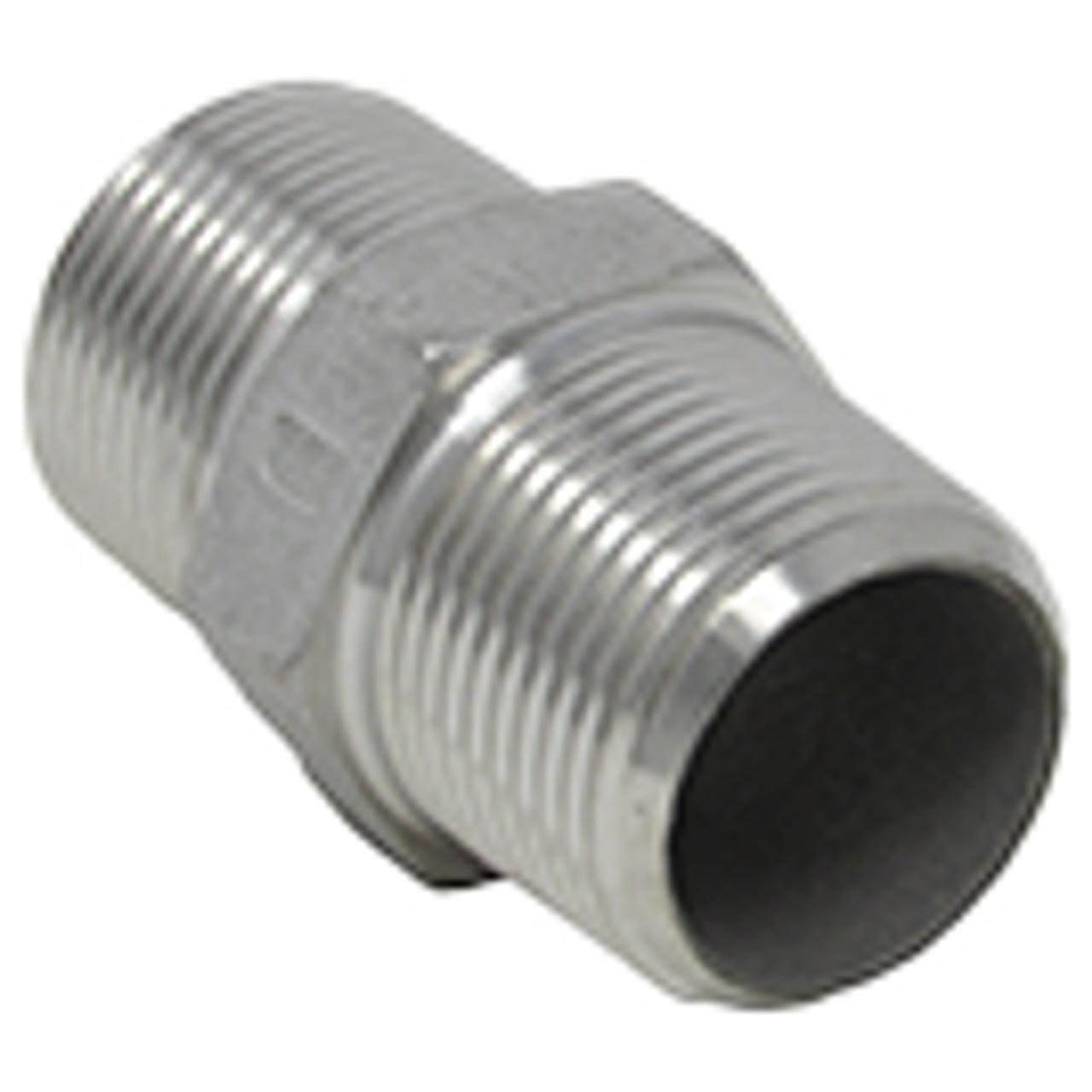 Hex Nipples - Stainless Steel