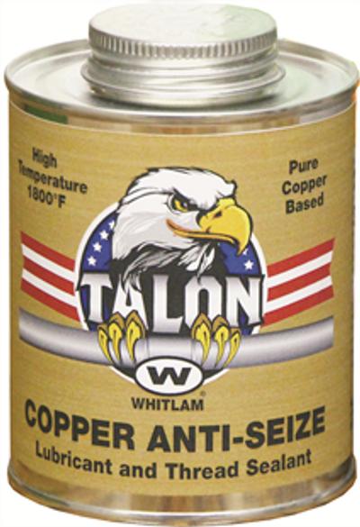 TALON COPPER ANTI-SEIZE Lubricant and Thread Sealant by J.C. Whitlam CU16