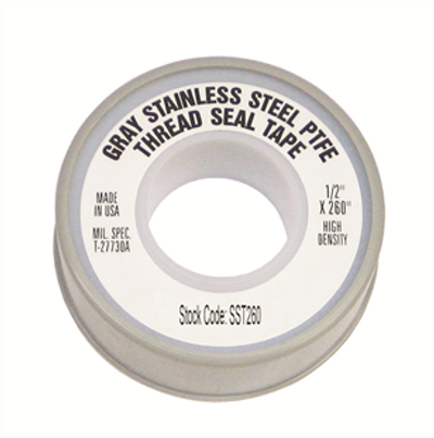Stainless Steel PTFE Tape