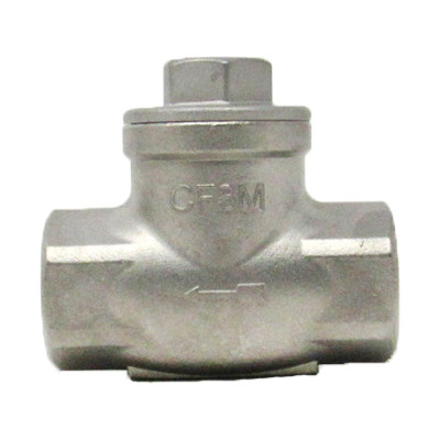 TCI Check Valve 200# Threaded Stainless Steel