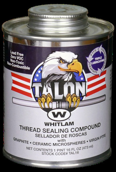TALON PTFE Pipe Thread Compound by J.C. Whitlam at pipingnow.com