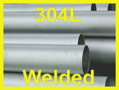 """1"""" Welded Pipe Schedule 5s, Stainless Steel 304/304L ASTM A312 ASME SA312"""