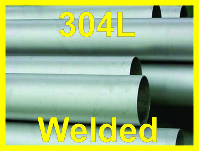 "18"" Welded Pipe Schedule 5s, Stainless Steel 304/304L ASTM A312 ASME SA312"