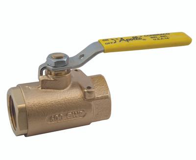 Apollo 71 series bronze ball valve with mounting pad