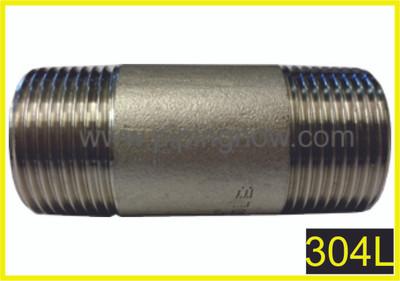 """1"""" x 48"""" Stainless Steel Pipe Nipple"""