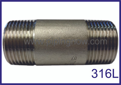Stainless Steel Nipple 316L