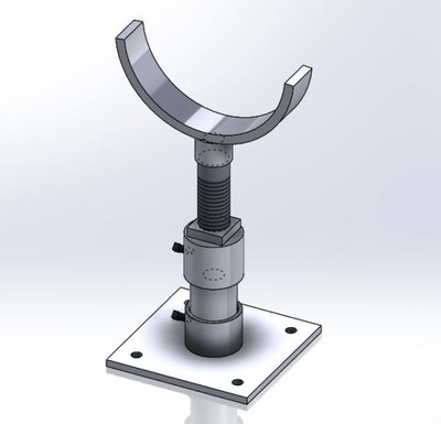 Adjustable Pipe Saddle Support Kit Empire #428KT