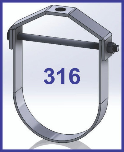 AIS 316 Stainless Steel  Clevis Hanger