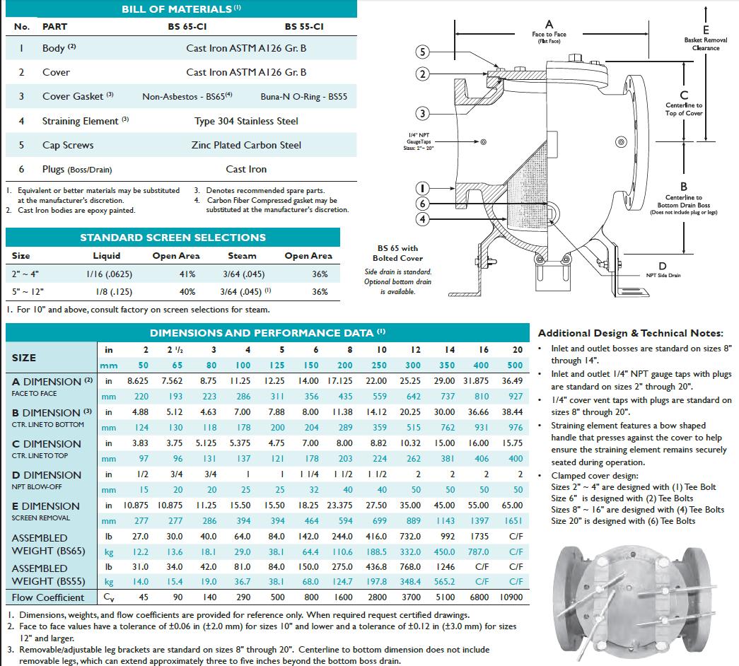 titan-strainer-bs55-65-dimensions