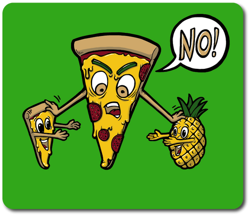 Pineapple doesn't belong on Pizza