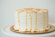Vanilla Bean Caramel Ice Cream Cake