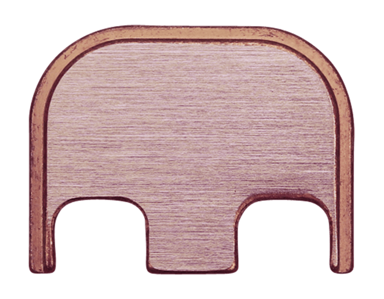 Plain Back Plate - 3 Finishes Available