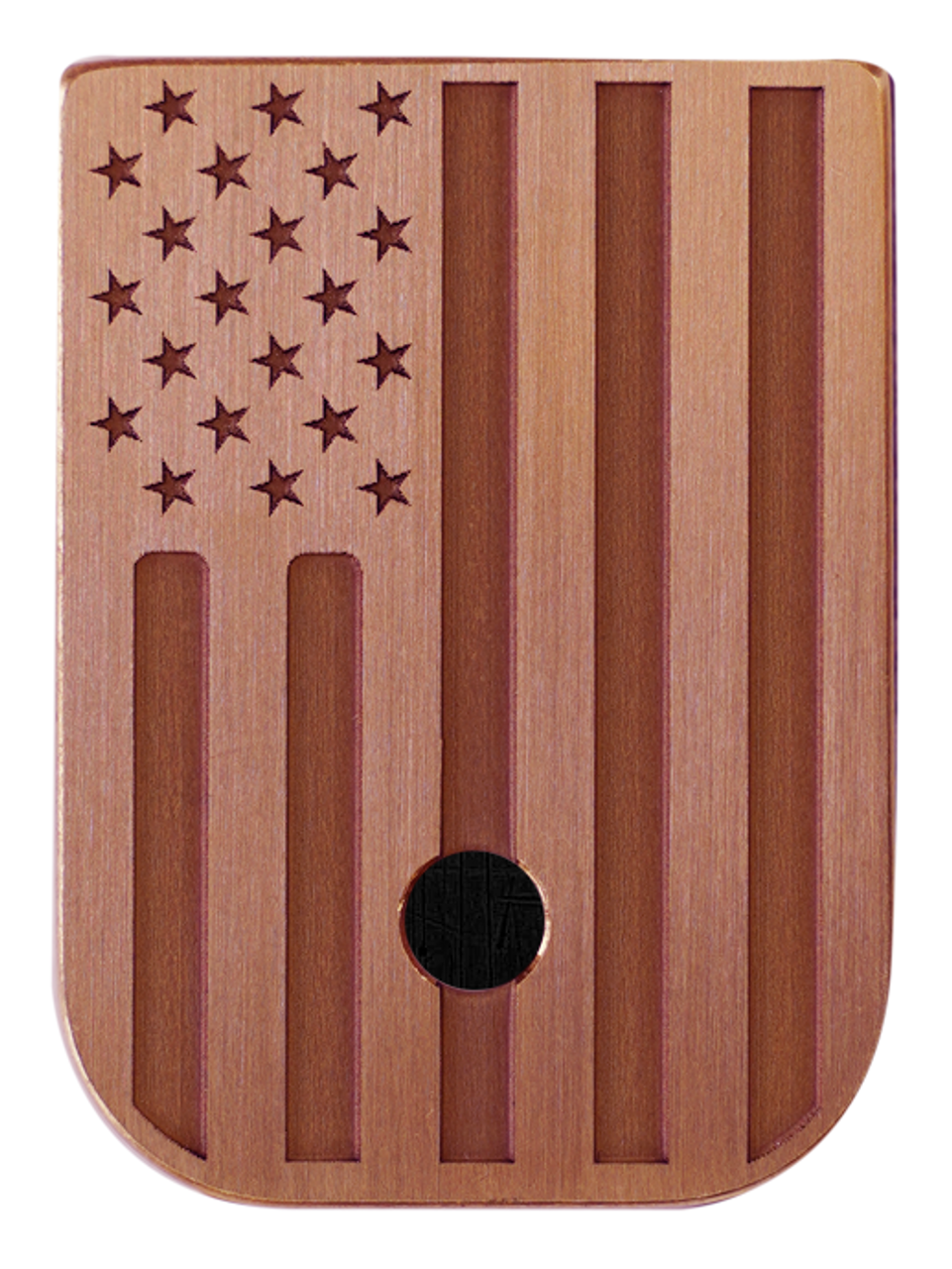 American Flag Mag Plate - 3 Finishes Available