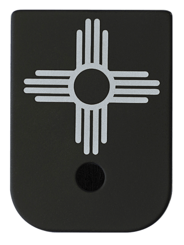 New Mexico Flag Mag Plate