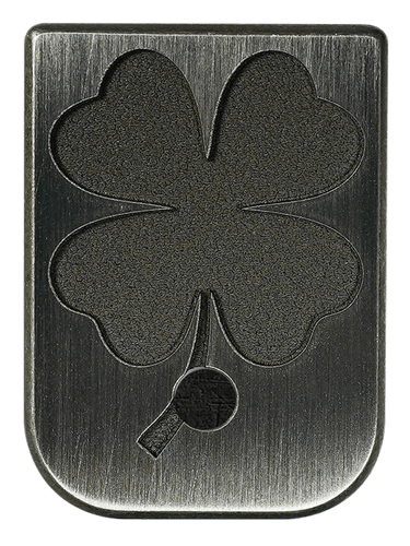 4 Leaf Clover Mag Plate - 3 Finishes Available