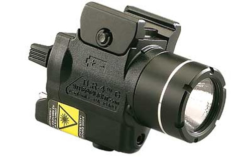 Streamlight, TLR-4 Tactical Light with Laser, Fits Picatinny, Black with Green Laser